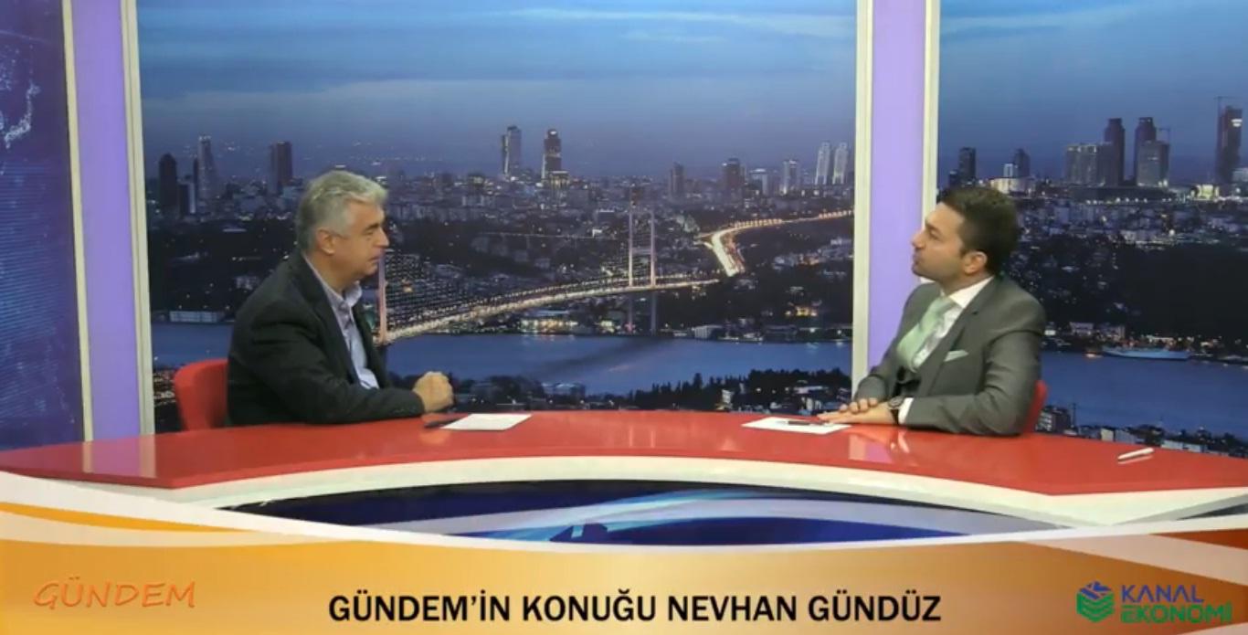 CEO'muz Nevhan Gündüz Celal Toprak ile Gündem'e konuk oldu.