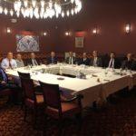 HATİAB heyeti Ankara temasları kapsamında akşam yemeğinde bir araya geldi